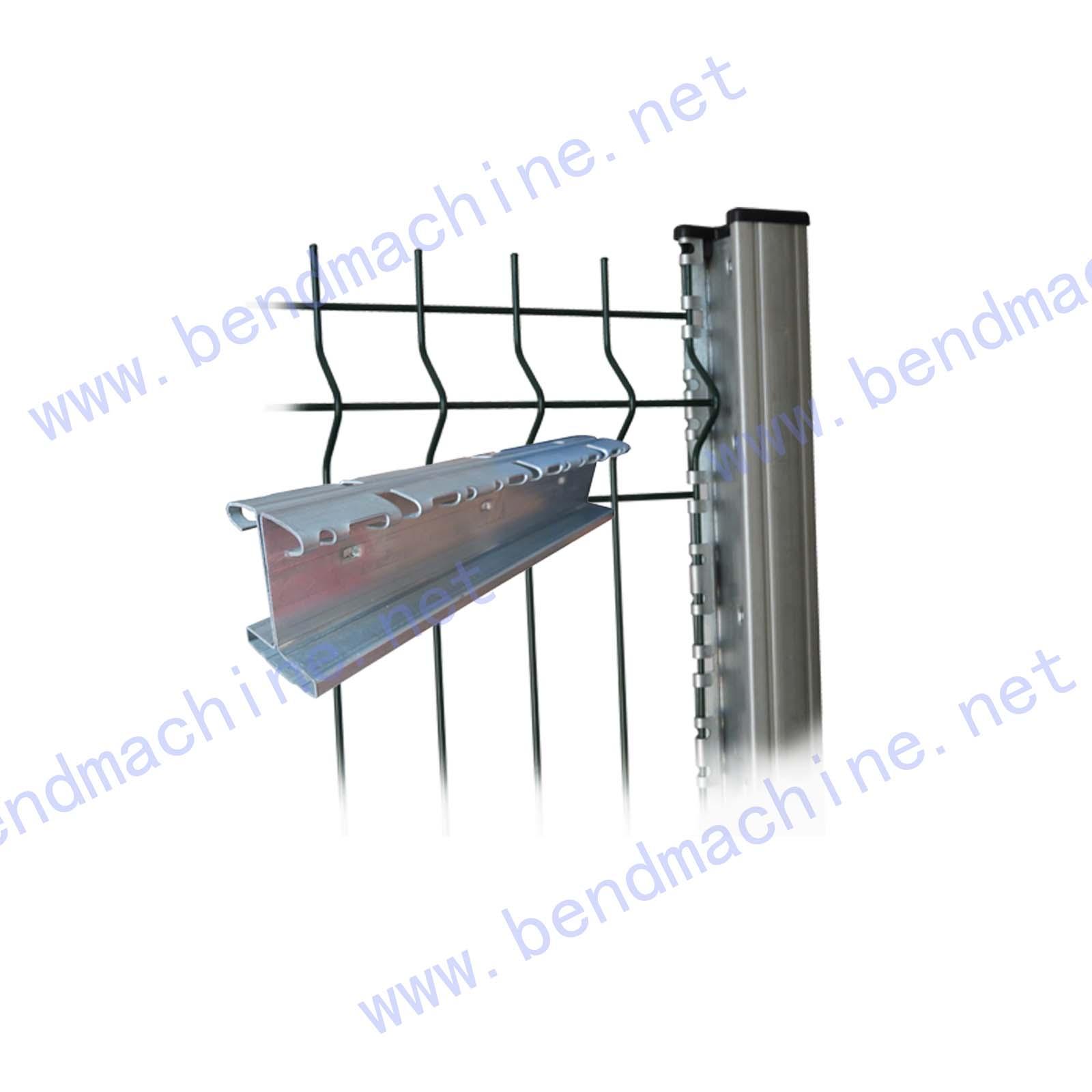 特殊弯边围栏立柱1